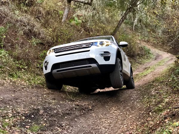 4WD training at the Carmel Land Rover Experience Nov 2017